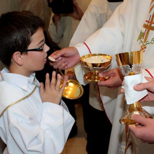Prvé sväté prijímanie