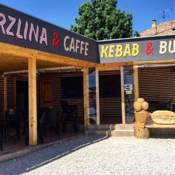 Zmrzlina & Caffe      ~~~~~    Kebab & Burger