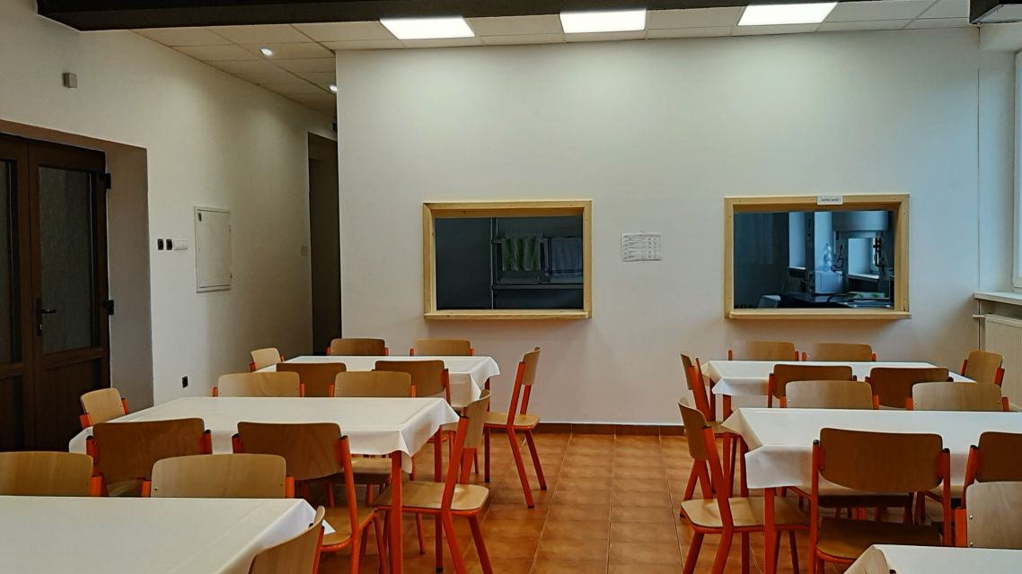 Nová školská jedáleň