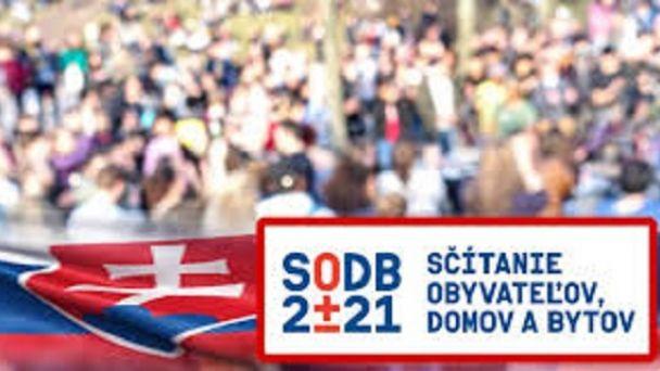 Sčítanie obyvateľov, domov a bytov - SODB 2021